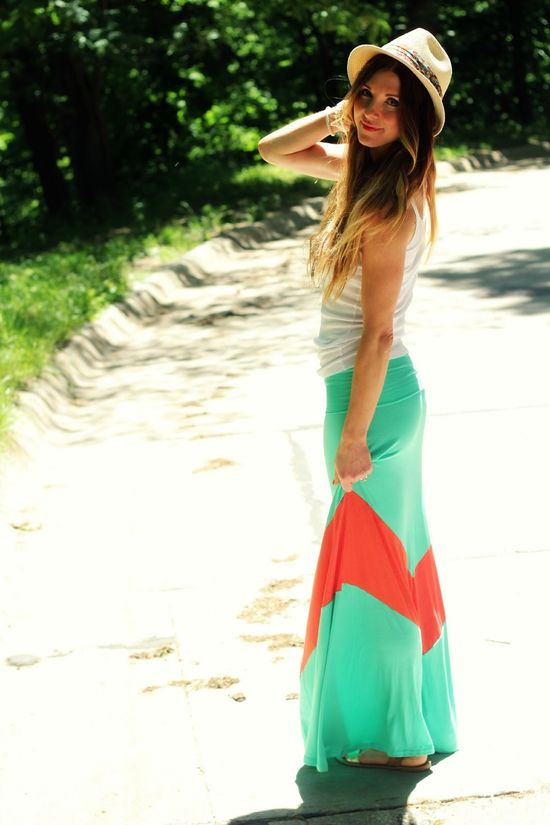 Maxi Skirt--I need to figure out how to make things like this.