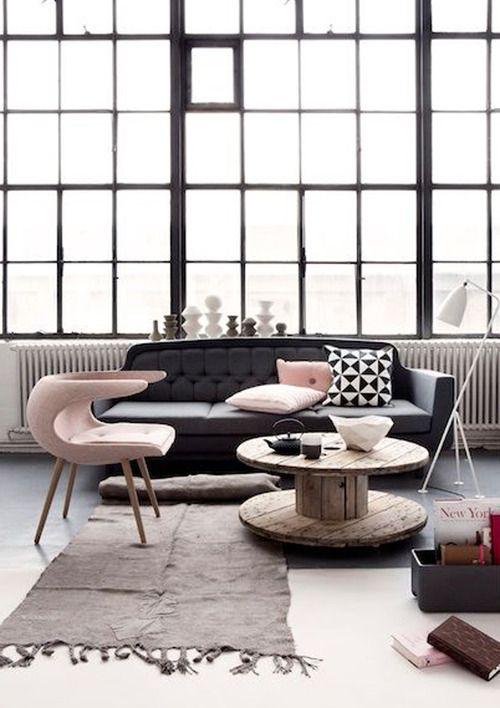 Interior Design....love the combo choice of design....
