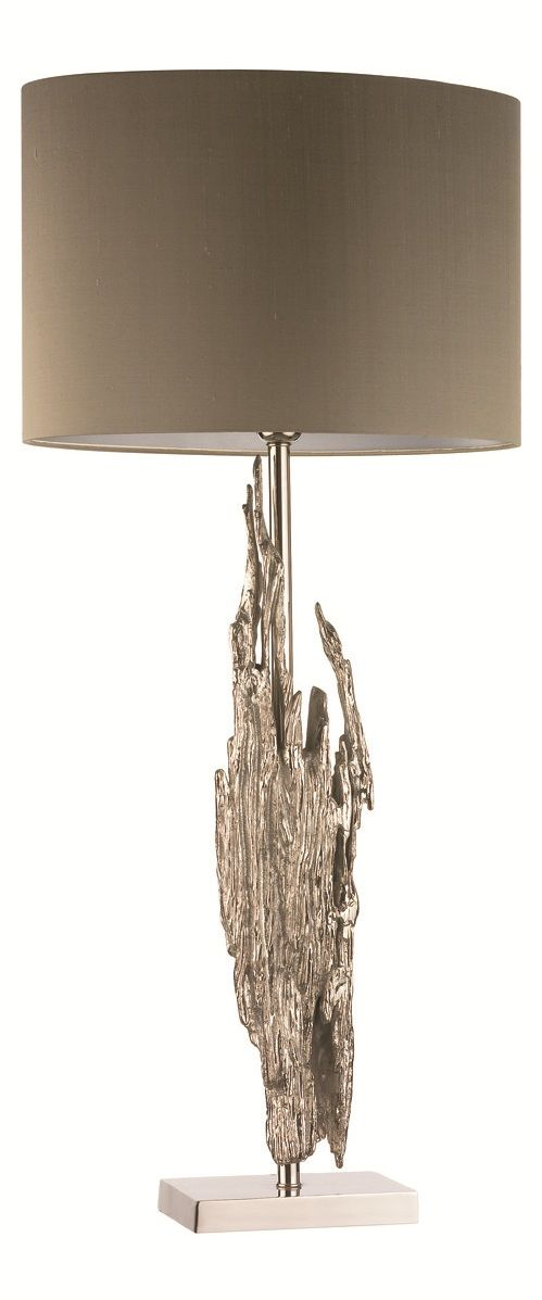 Designer Silver Driftwood Table Lamp, sharing luxury designer home decor inspirations and ideas for beautiful living rooms, dinning rooms, bedrooms & bathrooms inc furniture, chandeliers, table lamps, mirrors, art, vases, trays, pillows & accessories courtesy of InStyle Decor Beverly Hills enjoy & happy pinning