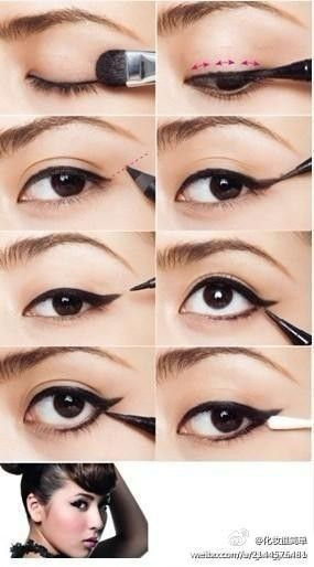 Cat eyes Makeup #eyes #makeup #pictorial