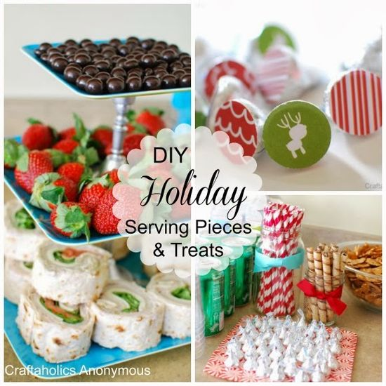 I'm sharing holiday party ideas over at Serenity Now!