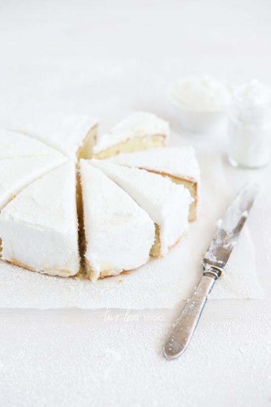 White butter cake ♥