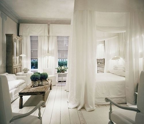 romantic bedroom….