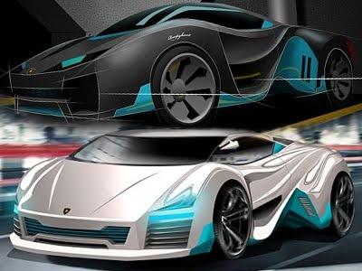 Lamborghini Rompighiaccio Electric Sport Car Concept