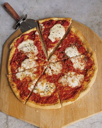 Perfect Pizza Recipe from Martha Stewart