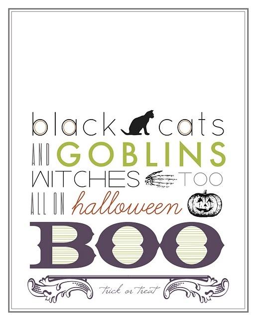 i love this halloween printable!