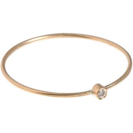 Jennifer Meyer Gold & Diamond Thin Ring at Barneys.com
