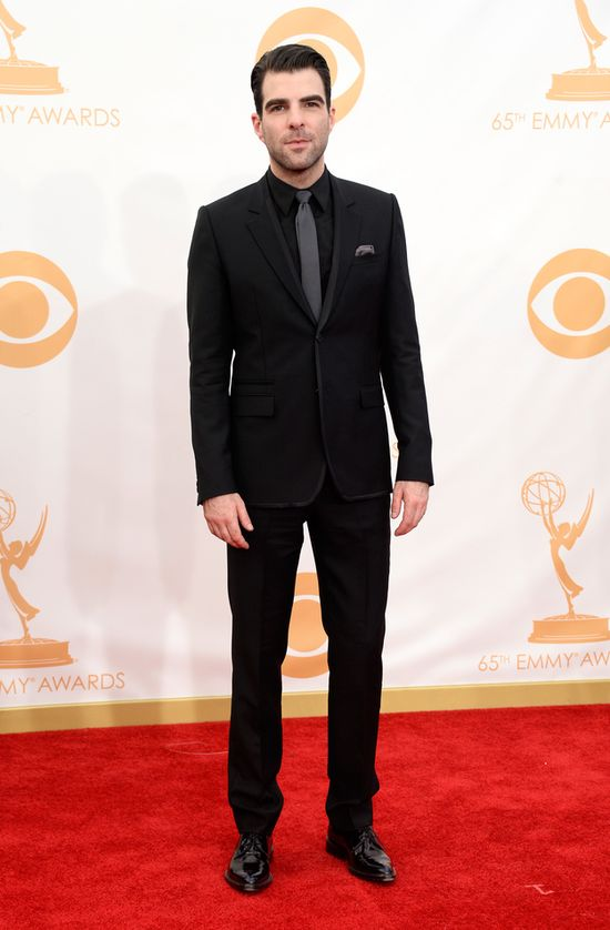 2013 Emmy Awards - Zachary Quinto in Givenchy