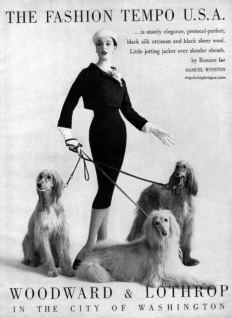 The Fashion Tempo USA 1957 Women looked  much more together.
