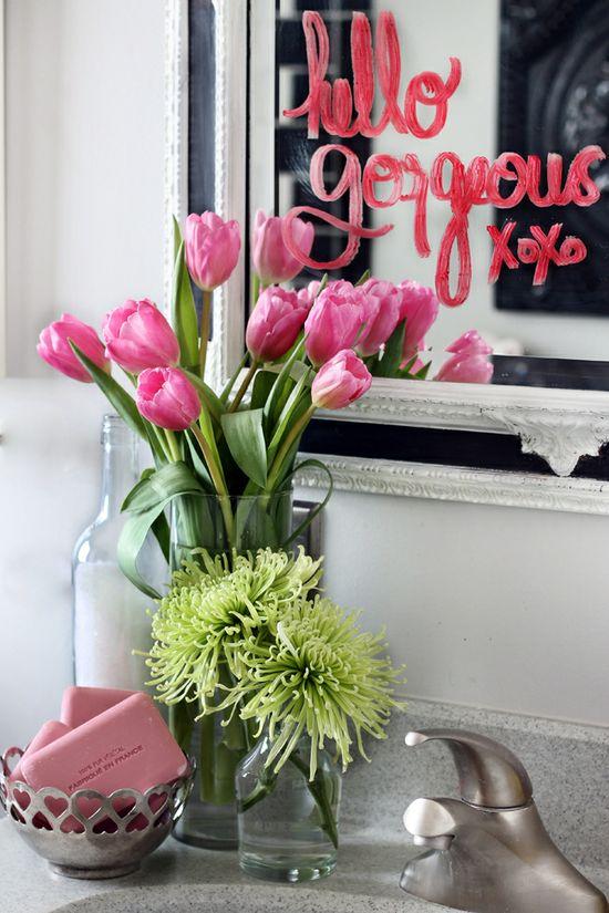 Valentine's Day ideas, so cute via The Hunted Interior