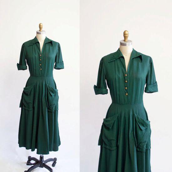 50's dress!  So cute!!