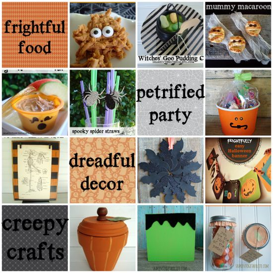 Easy DIY Halloween party ideas at shakentogetherlif...