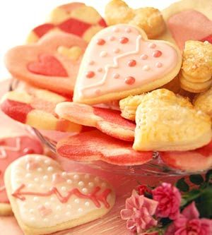 Valentine's Day Sugar Cookies -- a sweetheart of a recipe!
