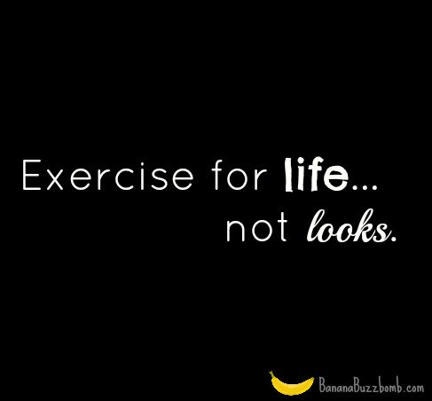 Exercise For Life #quote