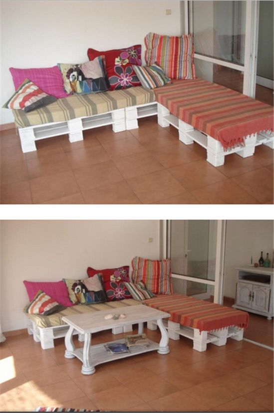 Use Old Pallets for Beds