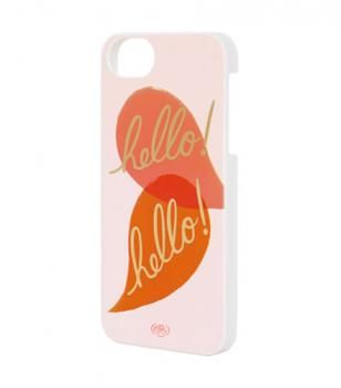 Rifle Paper Co - iPhone 5 slim Hello cover