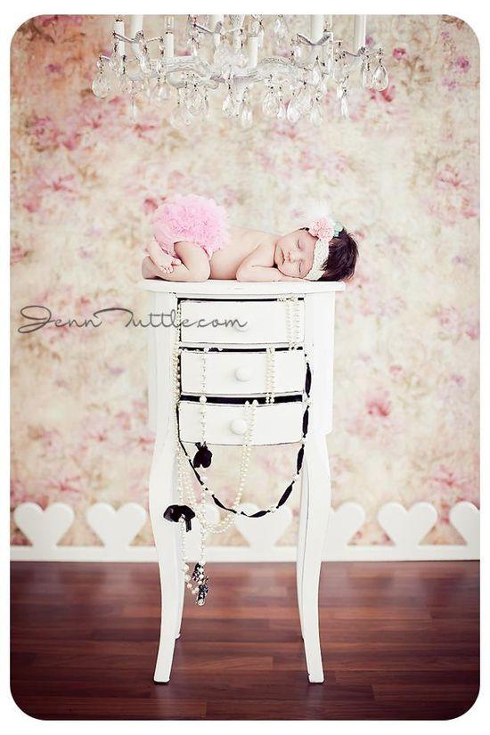 My new favorite! Vintage inspired newborn shoot