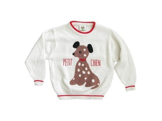 vintage PETIT CHIEN sweater