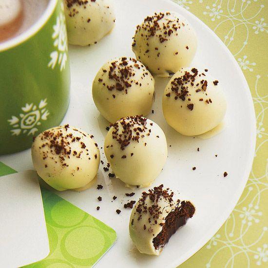 mocha truffles from bhg