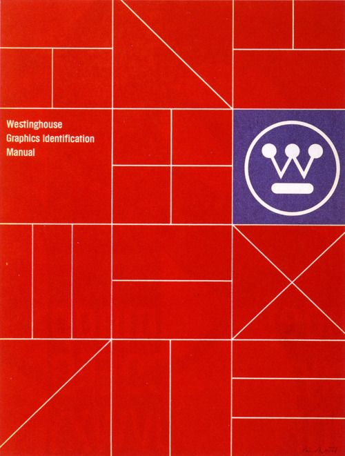 Westinghouse Graphics Identification Manual, Designed by Paul Rand, 1961