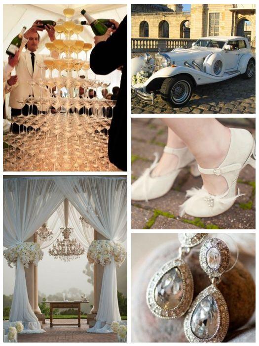 A Great Gatsby Wedding