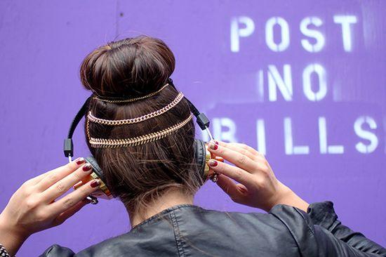 I Spy DIY: [My DIY] Hair Chain