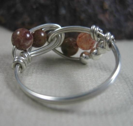 Jasper Wired Ring