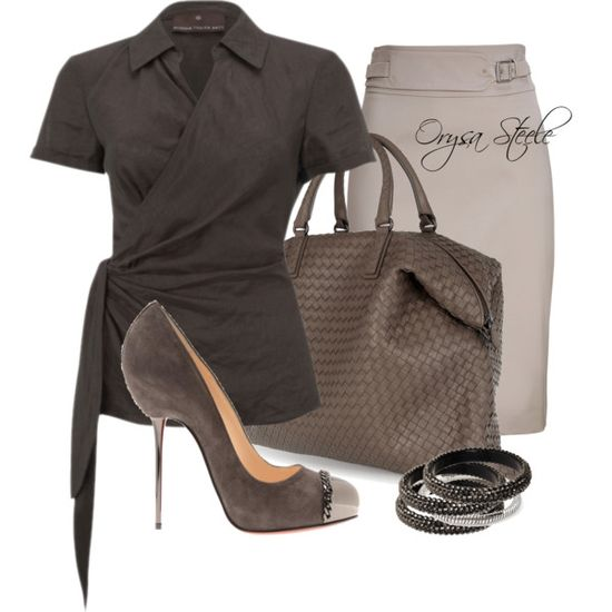 """Written in Stone"" by orysa on Polyvore"