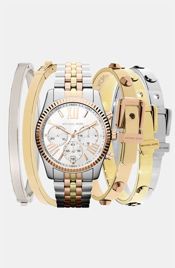 Michael Kors Watch & Bangles