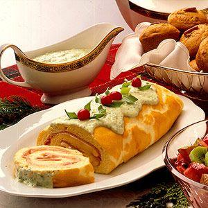 ham souffle roll