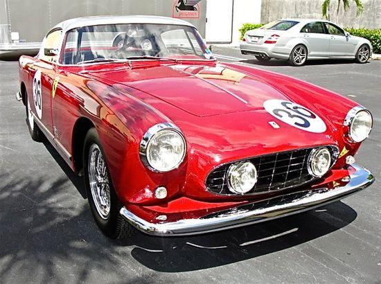 Another beautiful vintage Ferrari race car