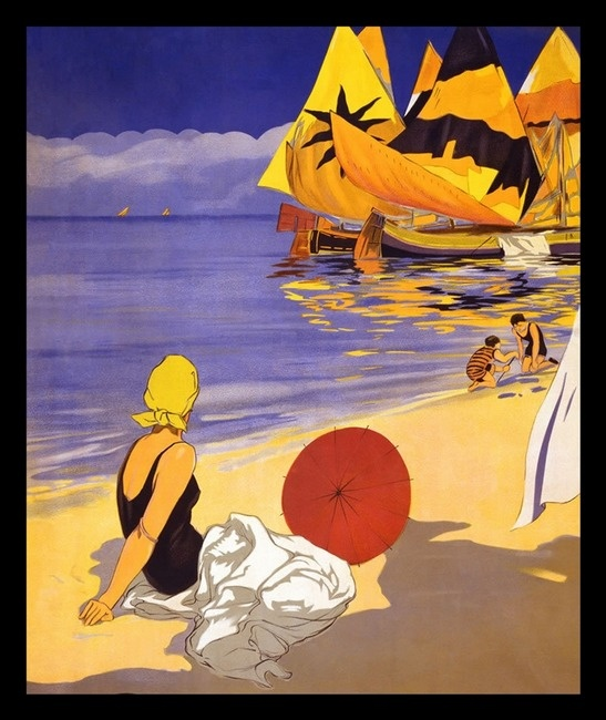 Italy Vintage Poster