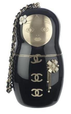 Matryoshka Chanel bag! cheap designer chanel handbags outlet