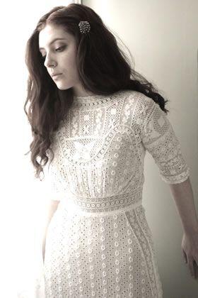 #vintage lace dress