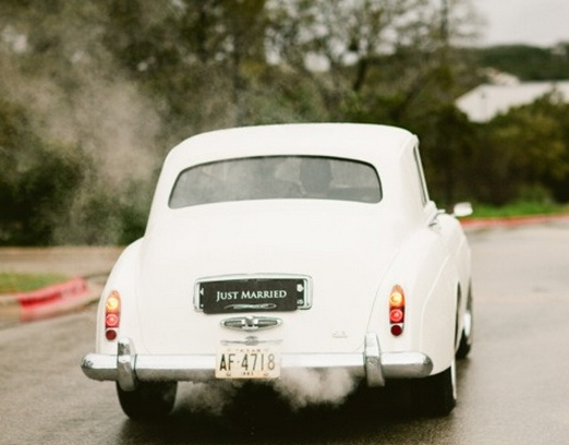 How about hiring a classic car for the special day?