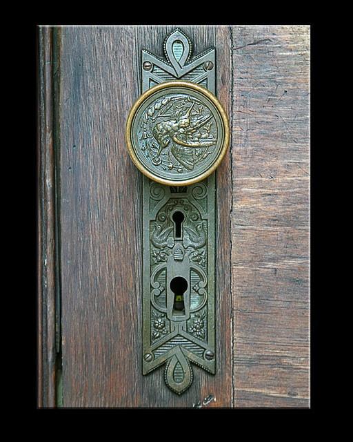 Lovely door knob