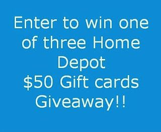 Home Repair Updates {Plus a Home Depot Gift card Giveaway!}