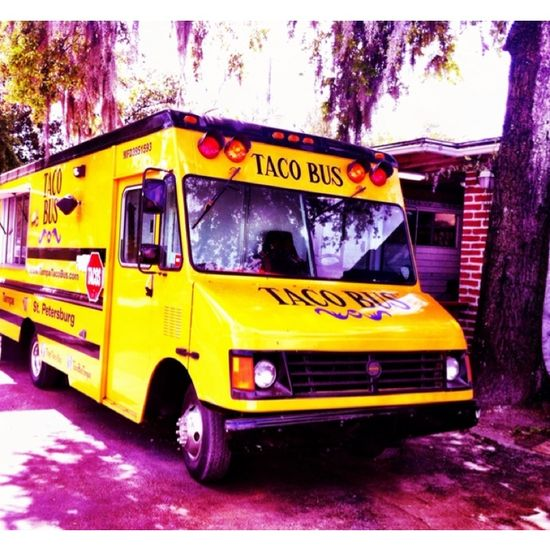 "Discovered by Bill Dillard, ""Great food and Cool Venue ! #Lunchtime"" at Taco Bus, Tampa, Florida"