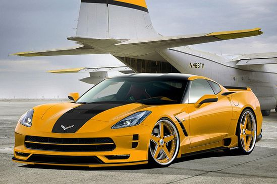 2014 Corvette Stingray Render