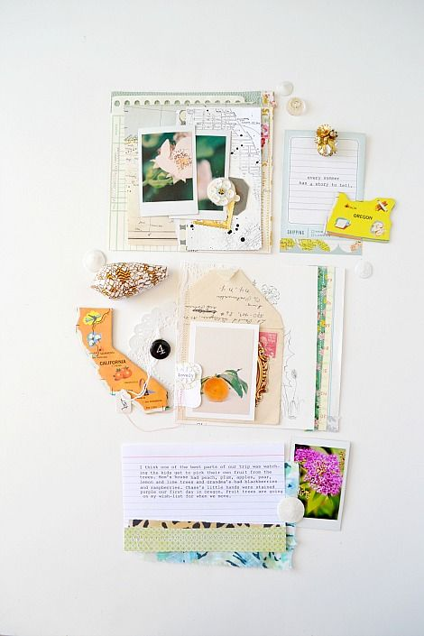Crate Paper blog #scrapbook #layout #art #journal #travel