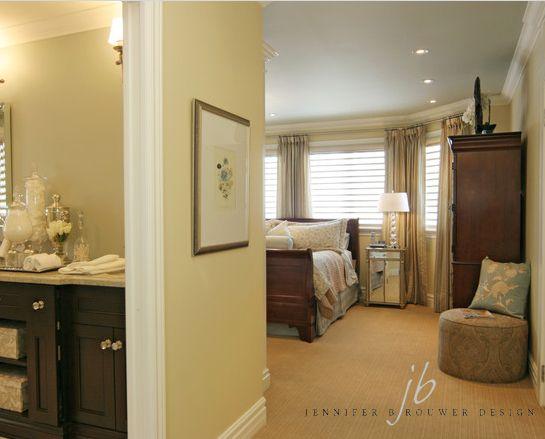 Aurora bedroom designed by Jennifer Brouwer Design. #jbd #intdesign #bedroom #customdesign