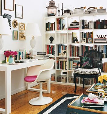 Featured on Domino magazine for small apartment decorating ideas