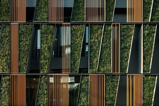 Vertical Living Gallery, by Shma + Sansiri PCL + SdA.  #architecture #design #facade #greedesign #sustainability #verticalgarden
