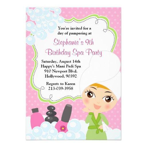 invitations for little girls
