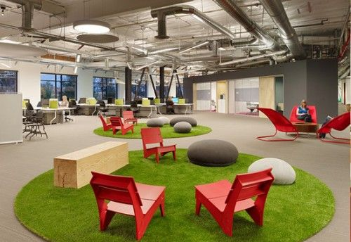 Office Design: Skype Headquarters by Blitz