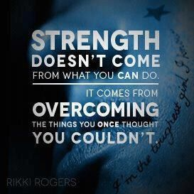 Strength ~