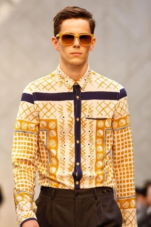 Burberry Prorsum Spring Summer Menswear 2013 via www.nowfashion.com