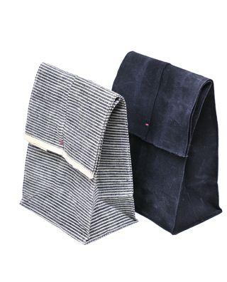 Flax 'paper' bag by Metsa.