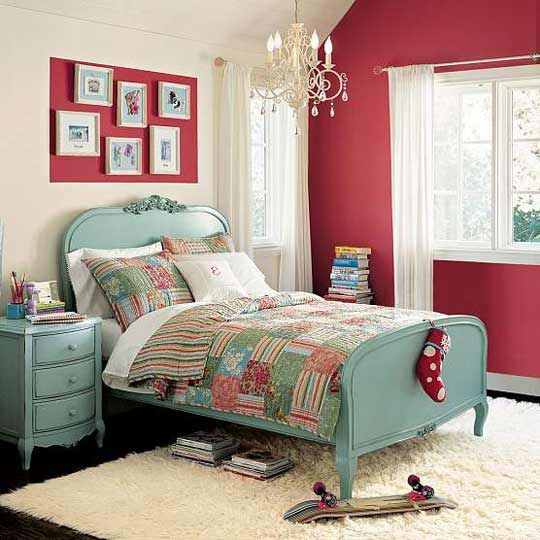 PB Teen Bedroom