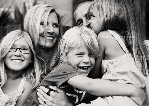 real family, no posing. my favorite.
